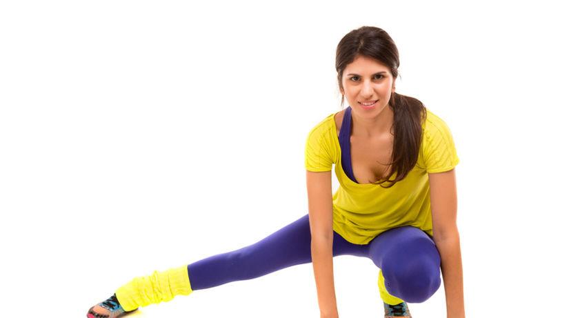 športový klub, žena cvičí, fitnes centrum