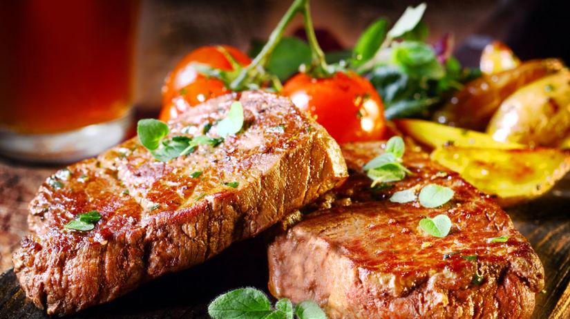 hovädzí steak, grilovanie
