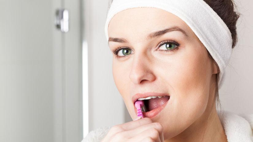 umývanie zubov, čistenie zubov, zuby
