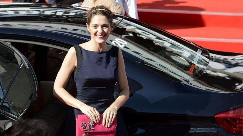 Česká herečka Klára Issová.