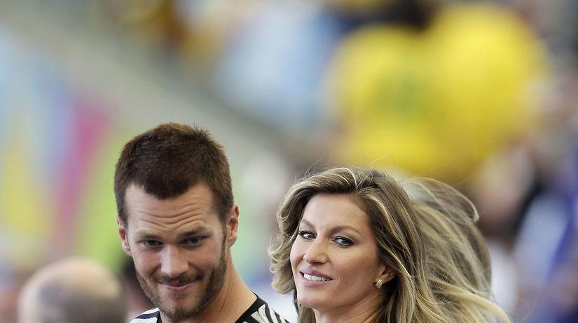 Gisele Bündchen a jej manžel Tom Brady
