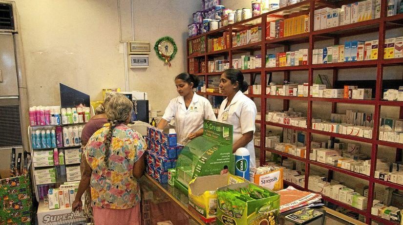 lekáreň, Srí Lanka