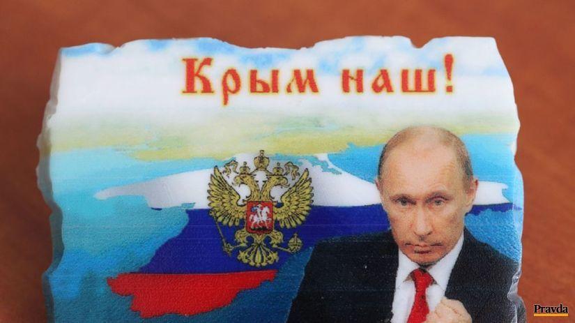 Krym, Putin, magnet