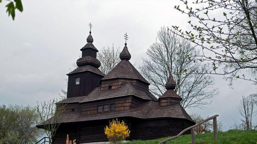 drevený kostol, kostol sv. Michala Archanjela,...