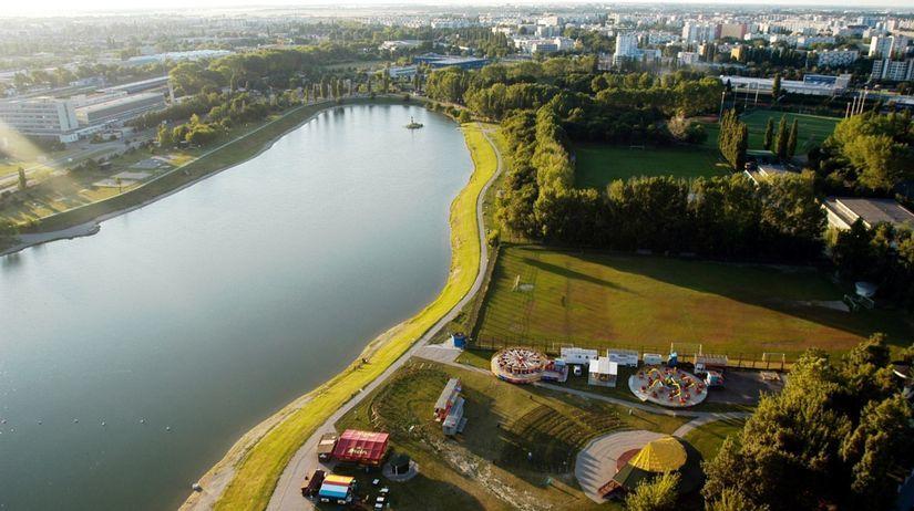 Kuchajda, jazero