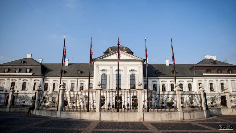 prezidentský palác, Grassalkovichov palác,...
