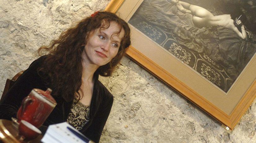 Sára Saudková.