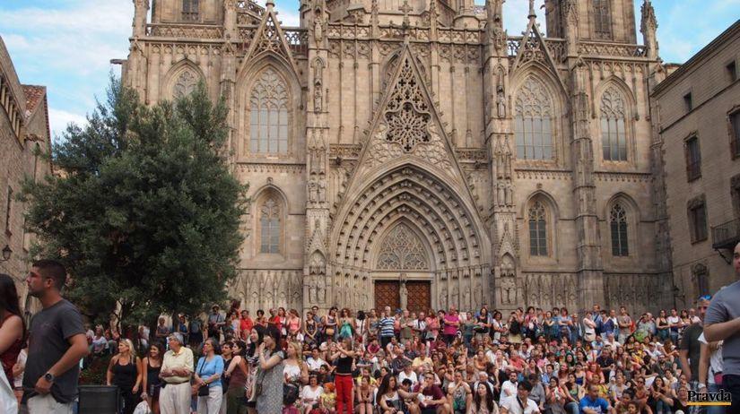 Barcelona, katedrála