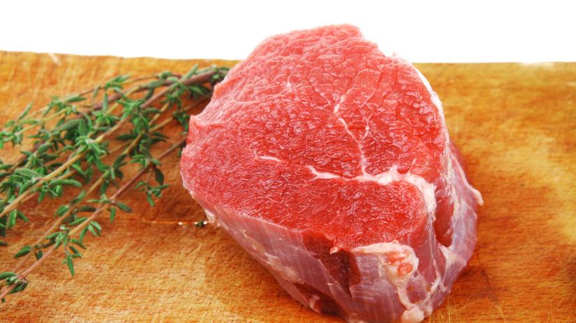 červené mäso