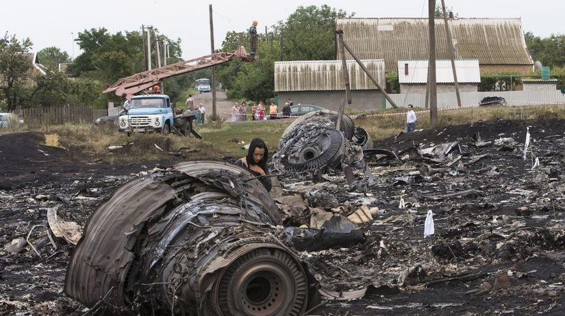 vrak, Malajzijské lietadlo, havária, Ukrajina,...