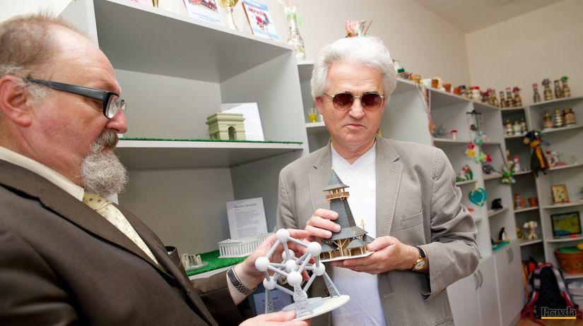 nevidiaci, Nitra, 3D modely