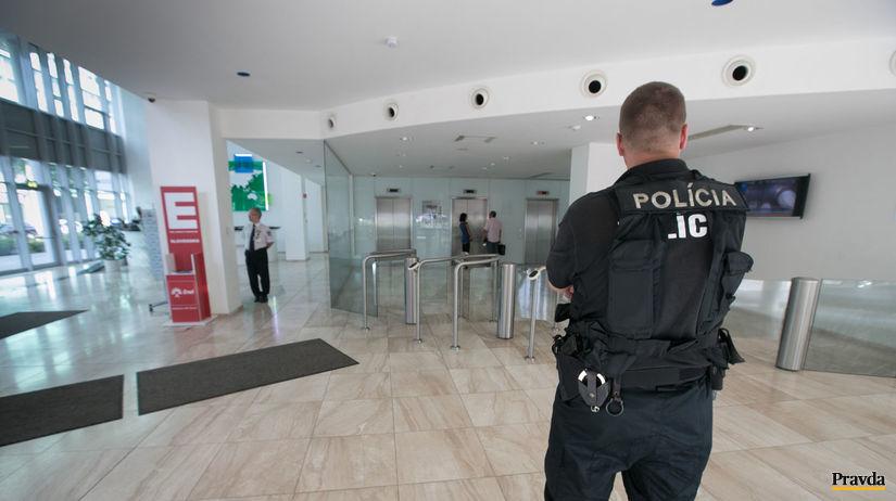 slovenske elektrarne, policia, kontrola