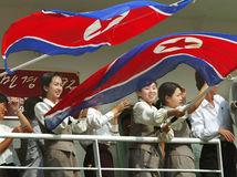KĽDR, Severná Kórea, prístav, Wonsan, loď