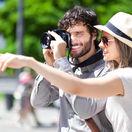 fotoaparát, dvojica