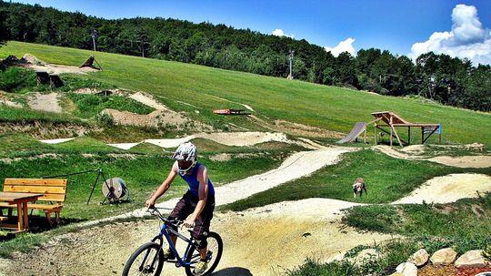 Pumptracková dráha v bike parku v Spišskej Belej bude hotová v polovici júna