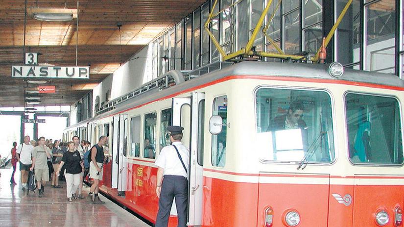 električka, Tatry, vlak