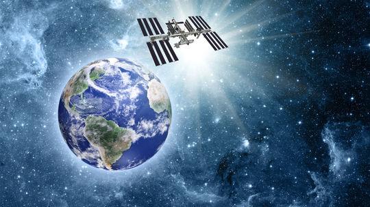 ISS, vesmír, zem, vesmírna stanica, satelit