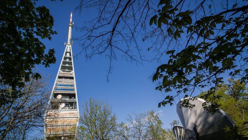 Kamzík, televízna veža