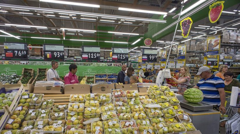 Rusko, sanckie, potraviny, obchod, Novosibirsk