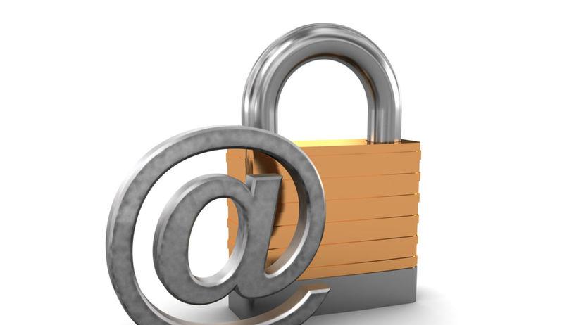 šifrovanie, e-mail, správa, internet,...