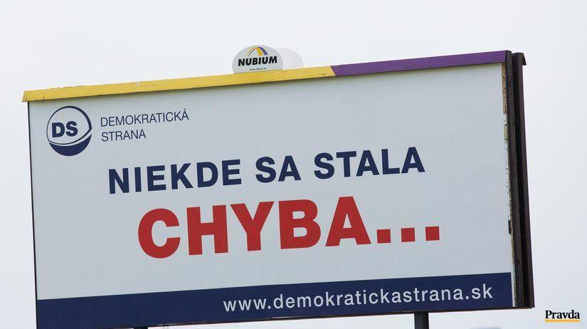 billboard, demokraticka strana