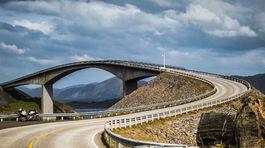 Nórsko, Atlantic road