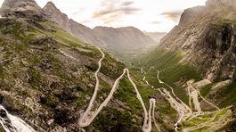 Nórsko, cesta trolov
