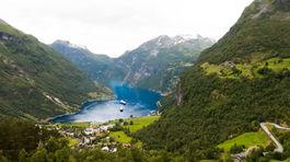 Nórsko, Geirangerfjord