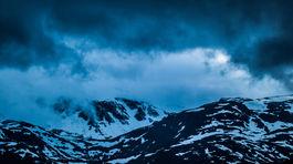 Nórsko, hory