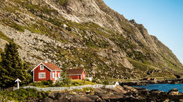 Nórsko, Lofoty, dom