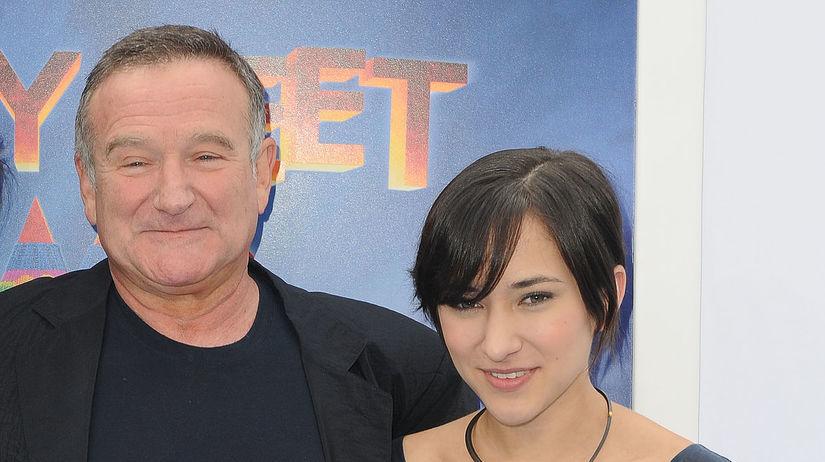 Zelda Williams a Robin Williams