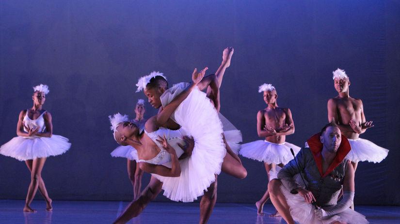 Dada Masilo's 'Swan Lake' as previewed at the...