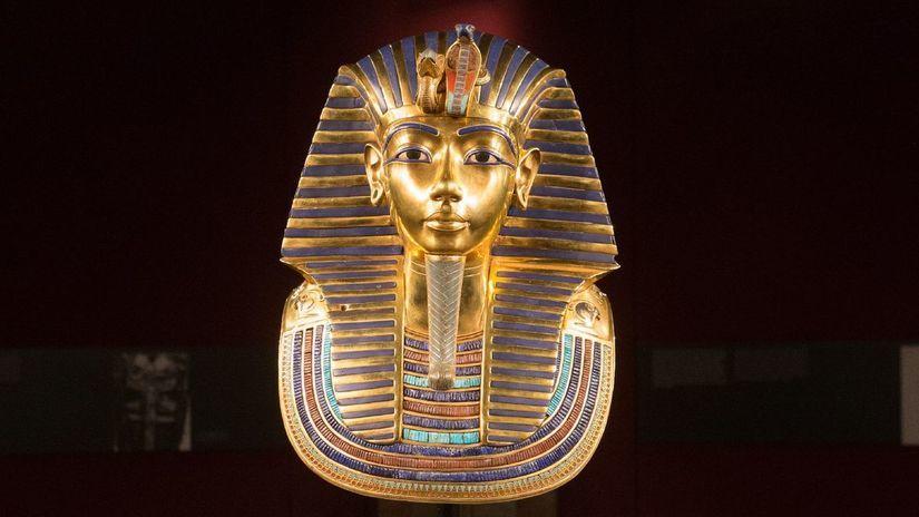 Tutanchamón, výstava, Bratislava, zlatá maska,...