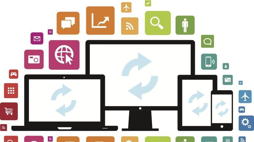 mobilné aplikácie, desktop, počítač, aplikácie,...