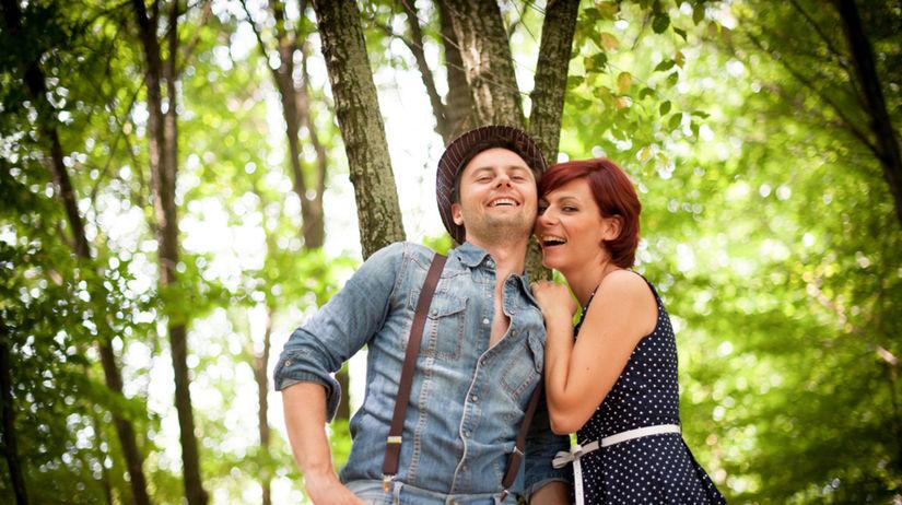 láska, vzťah, rande, les