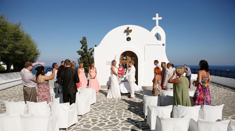 Rhodos, Blanka Golejová, obrad, svadba