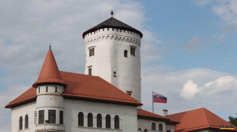 Budatín, hrad, veža