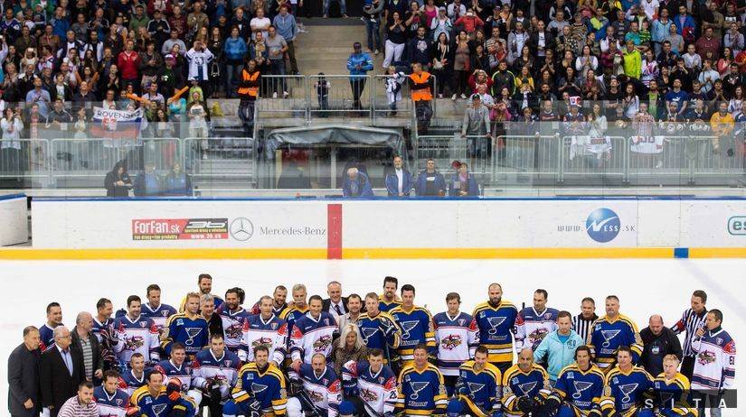 St. Louis Blues Alumni, Slovak Stars