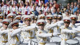 Ukrajina, vojenská prehliadka