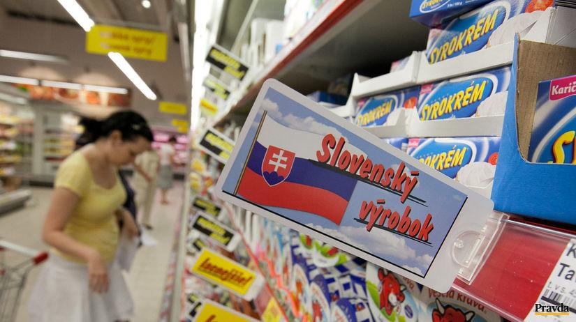 slovenský výrobok, obchod, potraviny