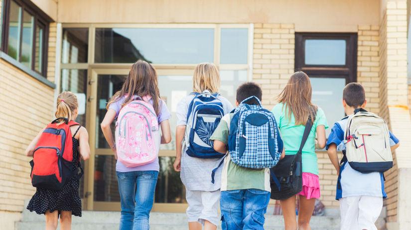 škola, školáci, žiaci, vyučovanie, študenti