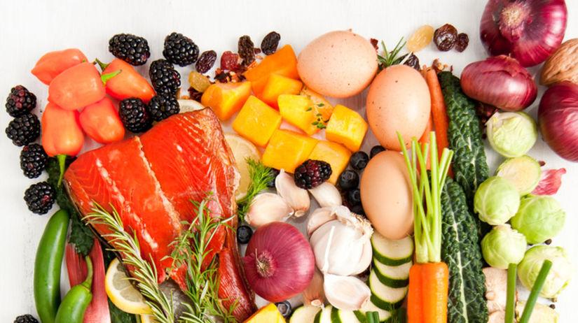 mäso, zelenina, paleo