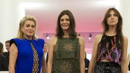 Catherine Deneuve, Chiara Mastroianni a Charlotte Gainsbourg
