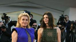 Catherine Deneuve (vľavo) a Chiara Mastroianni