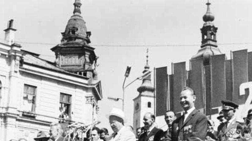 výročie SNP, Chruščov, Novotný, Dubček