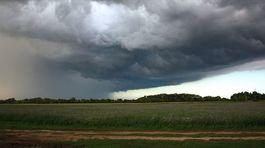 búrková obloha