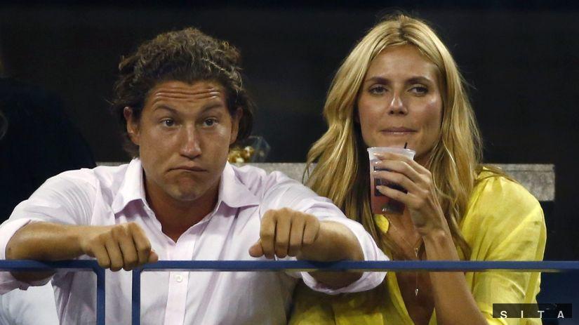 Heidi Klum a jej priateľ, Vito Schnabel