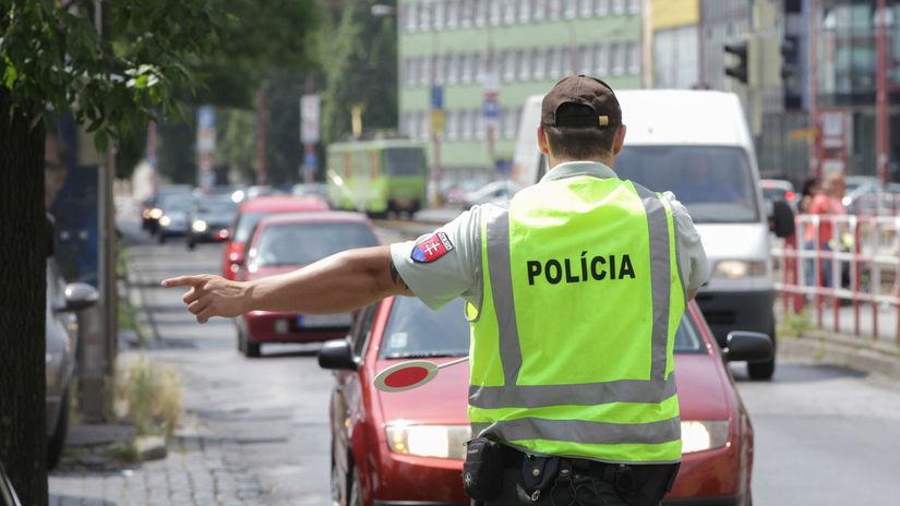 policia, policajt, pokuta, kontrola,
