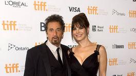 Al Pacino a jeho životná družka Lucila Sola