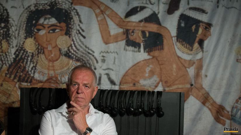 jaromír málek, egypt, egyptológ, tutanchamón,